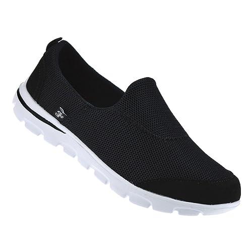Walk Pro - Zapatillas de Tela para Mujer: Amazon.es: Zapatos y complementos