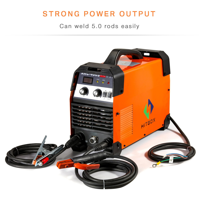 ARC Welder 200A Dual Volt 220V / 380V Strong Power Stick Soldadora ...