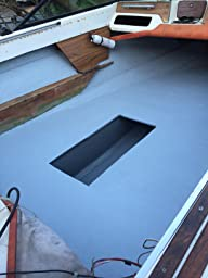 Totalboat totaltread non skid deck paint for Boat non slip deck paint