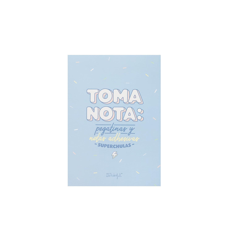 Mr. Wonderful woa09058es –  Quaderno di adesivi e foglietti adesivi