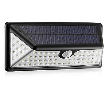 solar lights 73 led outdoor motion sensor solar wide angle design