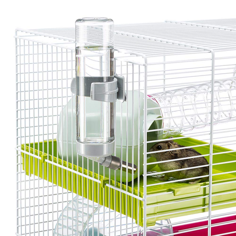 Ferplast Luara Small Hamster Cage | Fun & Interactive Cage Measures Measures 18.11L x 11.61W x 14.8H & Includes All Accessories by Ferplast (Image #8)