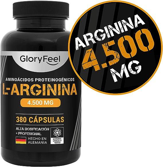 L-Arginina 4000mg: Amazon.es: Salud y cuidado personal