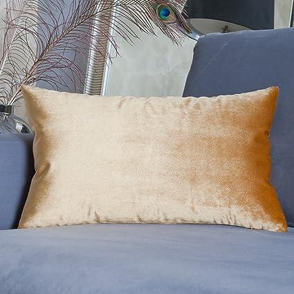 Ordinaire HOME BRILLIANT Spring Luxury Velvet Oblong Rectangular Throw Pillow Cover  Cushion Cover For Sofa/Living