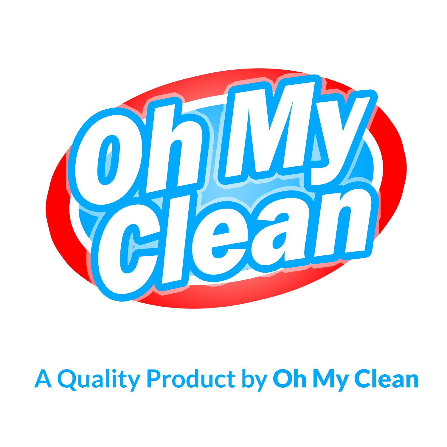 (100 Pack) Extra Large Magic Cleaning Eraser Sponge - 2X Thick, 2X Longer Lasting Melamine Sponges in Bulk - Multi Surface Power Scrubber Foam Pads - Bathtub, Floor, Baseboard, Bathroom, Wall Cleaner by Oh My Clean (Image #8)