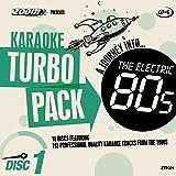 Zoom Karaoke CD+G Turbo Pack - 1980s/Eighties - 10 Discs [Card Wallets]