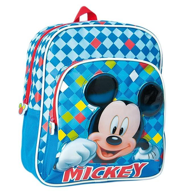 161878a67e Disney 2100000675, Zainetto per bambini blu 27 cm: Amazon.it: Abbigliamento