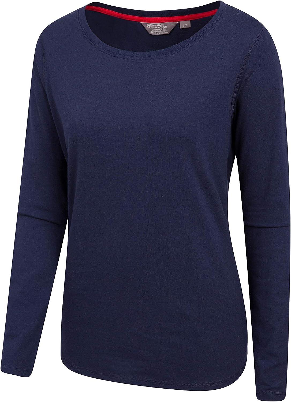 kurz/ärmelige T-Shirt-Nachtw/äsche pflegeleicht f/ür alle Jahreszeiten Mountain Warehouse Flanell-Pyjama-Set f/ür Frauen Karierte Hose entspannte Passform