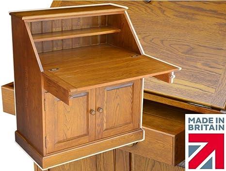 Mesa de roble macizo, 91,44 cm hecho a mano escritorio. Corazón ...