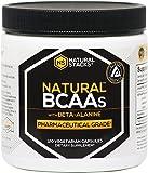 Natural Stacks Brand Natural BCAAs w/ Beta-Alanine Capsules (120 Count)