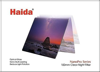 100 mm X 100 mm Haida NANOPRO MC Clear Night FILTRO