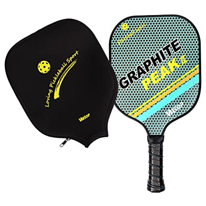 Amazon.com: Ligero Pickleball de grafito raqueta de Squash ...