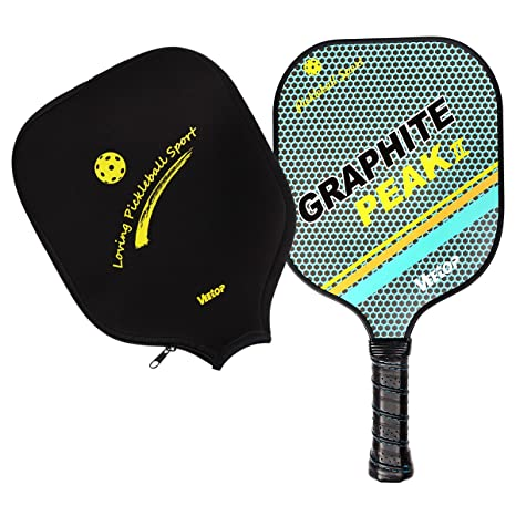 Lightweight Graphite Pickleball Paddle Racket Racquet By Veetop ...