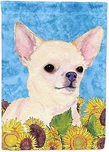 Caroline's Treasures SS4241GF Chihuahua Flag Garden Size, Small, Multicolor