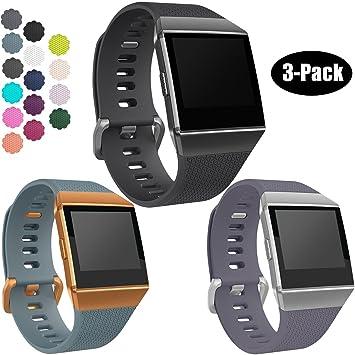 Para Fitbit Ionic reloj bandas, wepro deporte correa de ...