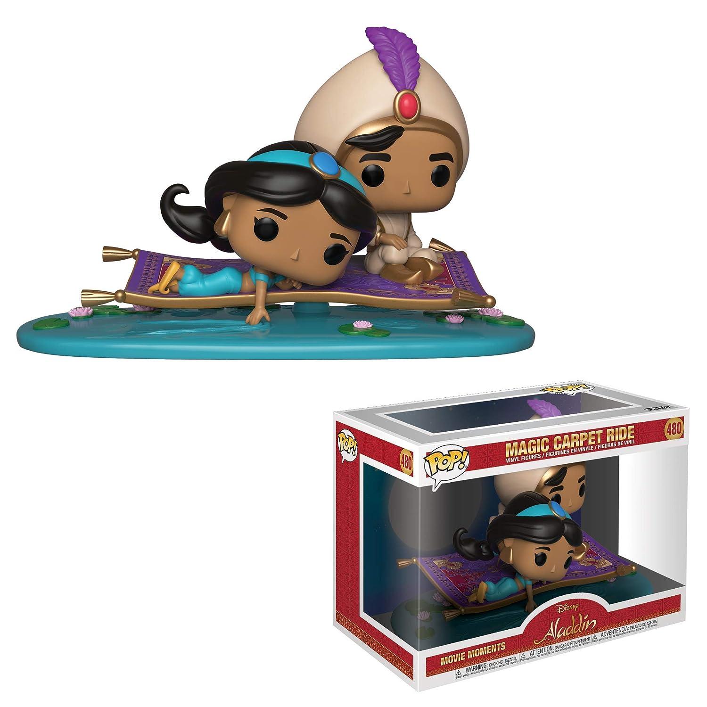 Magic Carpet Ride Multi Aladdin Pack de 2 Motores de pel/ícula Funko 35760 Pop Vinyl