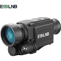 ESSLNB Vision Nocturne Monoculaire 4.5X40 Infrarouge HD Caméra avec 1.5 inch LCSI Écran 8GB TF Carte et Sac de Chasse