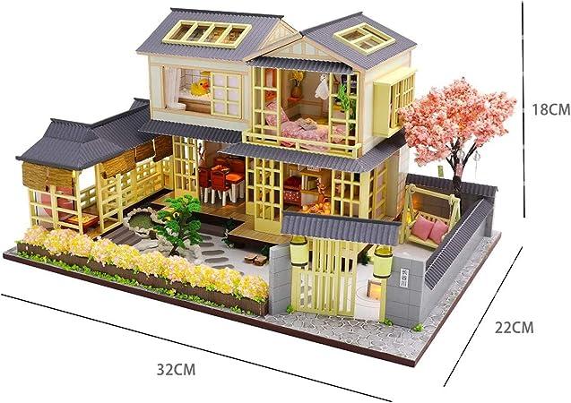 sookin Casa de MuñEcas en Miniatura DIY Juguete Casa de ...