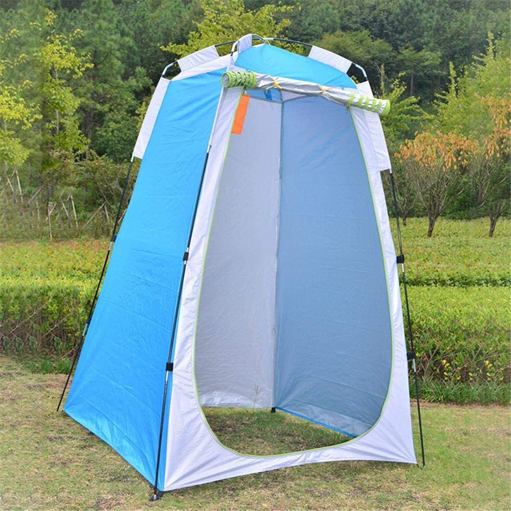 Removable Changing Room,Camp Toilet Lightweight Foldable 120x120x190CM Upgrade Portable Pop Up Privacy Tent Rain Shelter or Camping and Beach Tent with Storage Bag Instant Outdoor Shower Tent