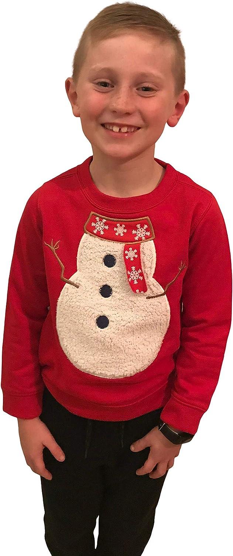 unisex Arizona Klub Felpa natalizia per bambini per ragazzi e ragazze in misto cotone taglia 3-12 anni