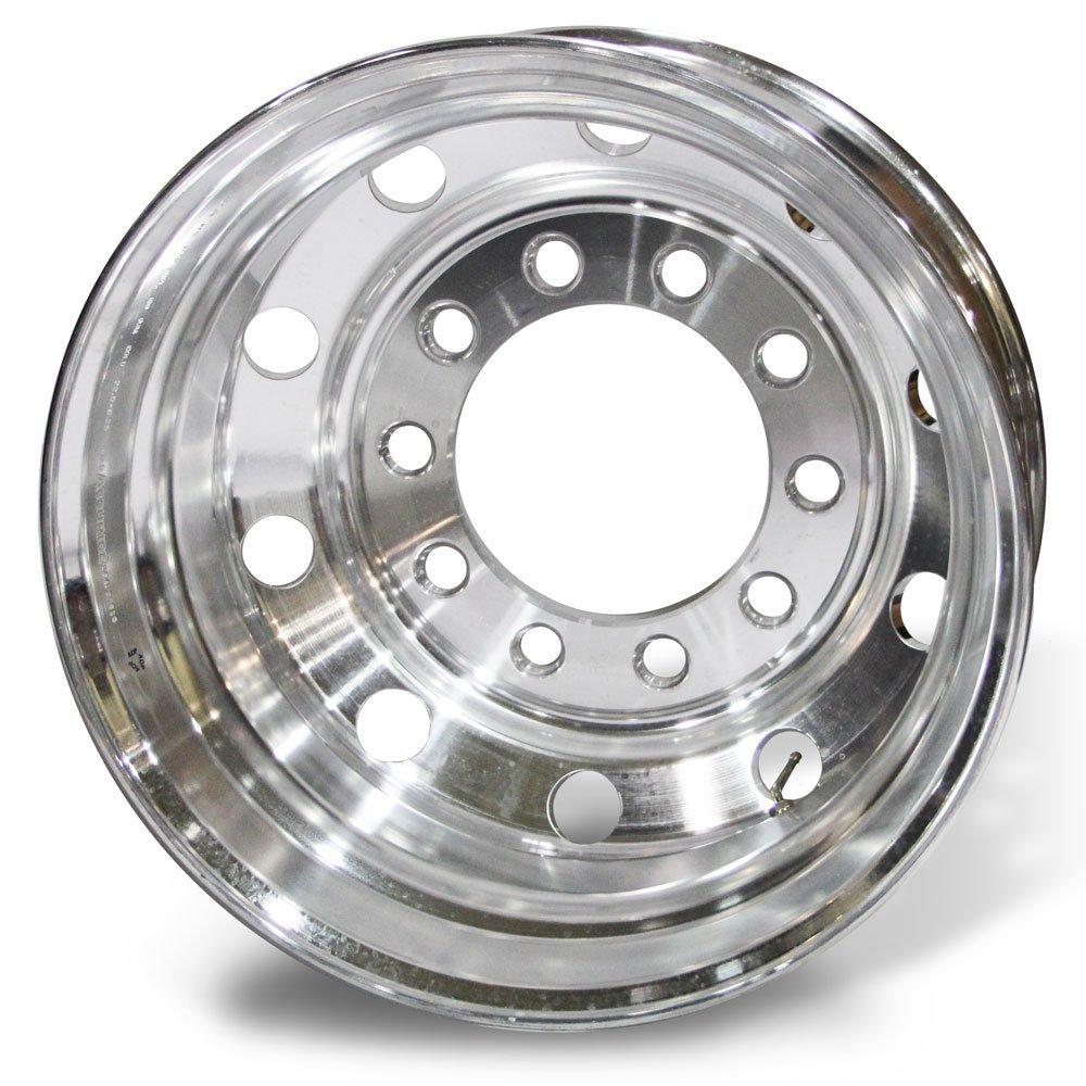 Accuride 24.5 x 8.25 Aluminum 10 on 11.25 Stud Pilot BUDD Wheel 27599SP