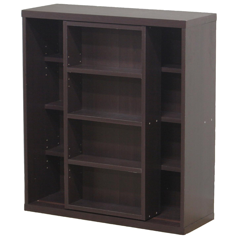 リクルートキリマンジャロ一目リビング収納 大容量 ダブルスライド 本棚