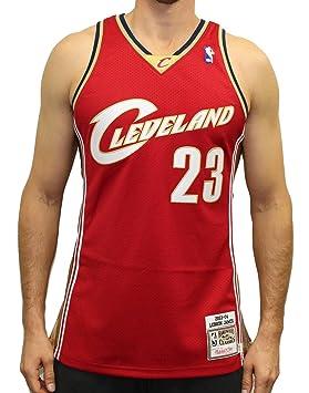 best website d1da7 d39f6 Lebron James Cleveland Cavaliers Mitchell & Ness Authentic ...