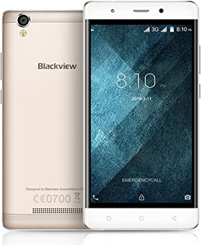 Blackview A8 Smartphone 3G WCDMA 5.1 Android Quad Core MTK6580A 5.0