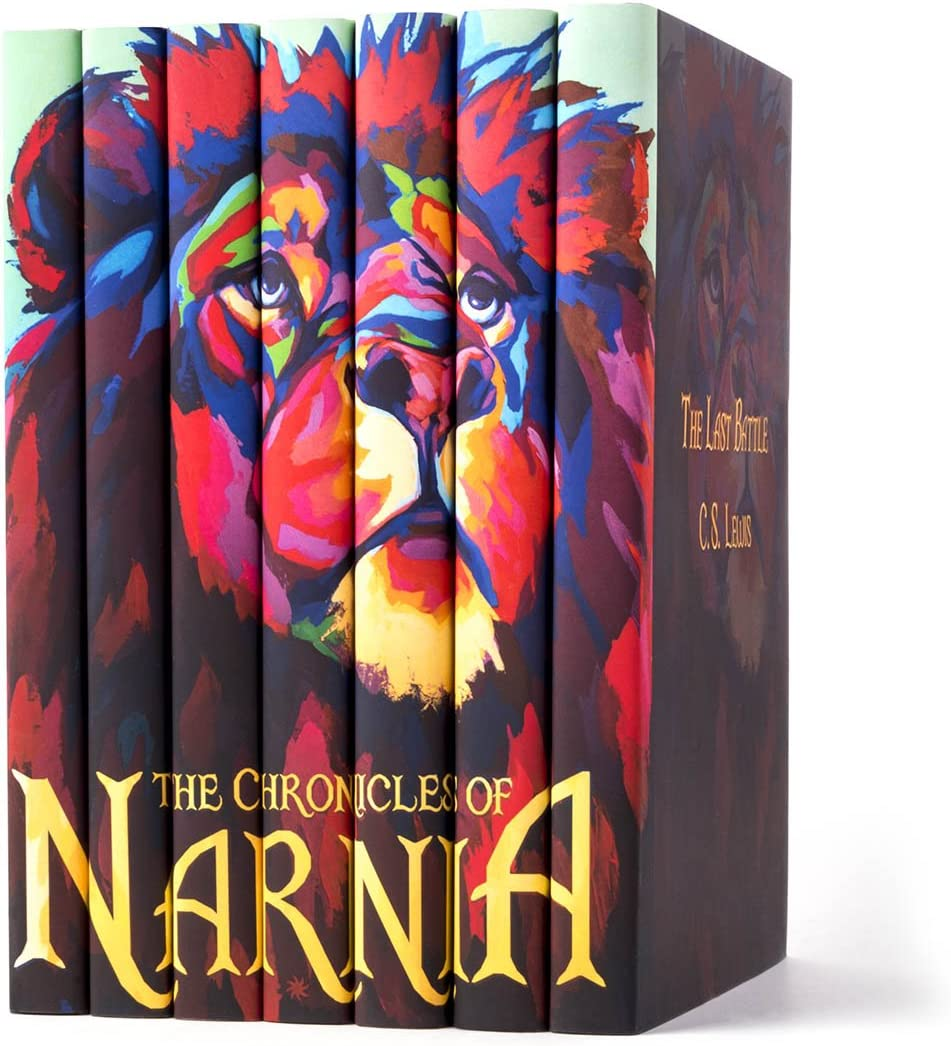 Lewis New Hardback Custom Gift Ed. The Chronicles Of Narnia 7 Volume Set by C.S