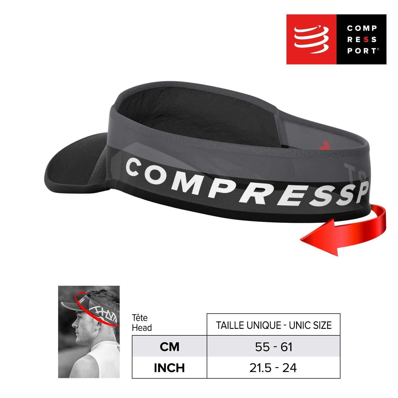 COMPRESSPORT Visor Ultralight - Visera Deportiva Unisex, Unisex ...
