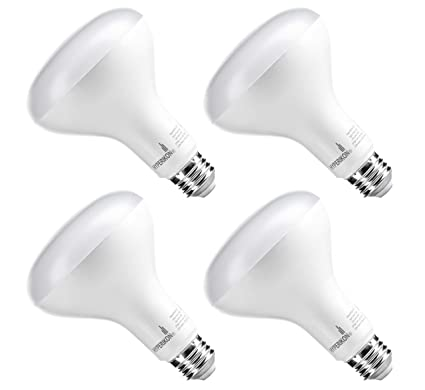 Hyperikon BR30 LED Bulb Dimmable, 12W (75W Equivalent), 5000K (Crystal White