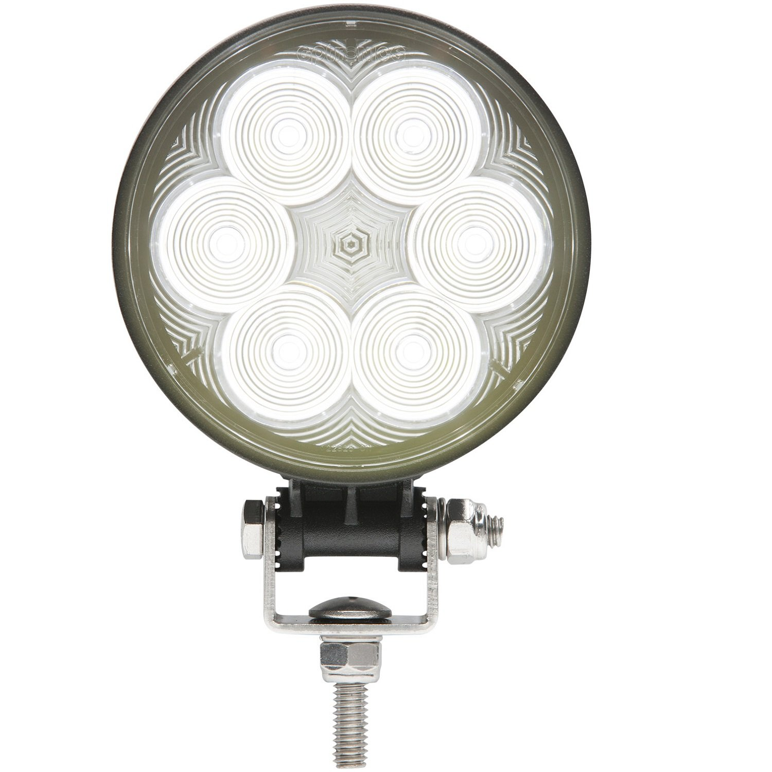 Optronics Opti-Brite LED 6-Diode Round Work Light by Optronics