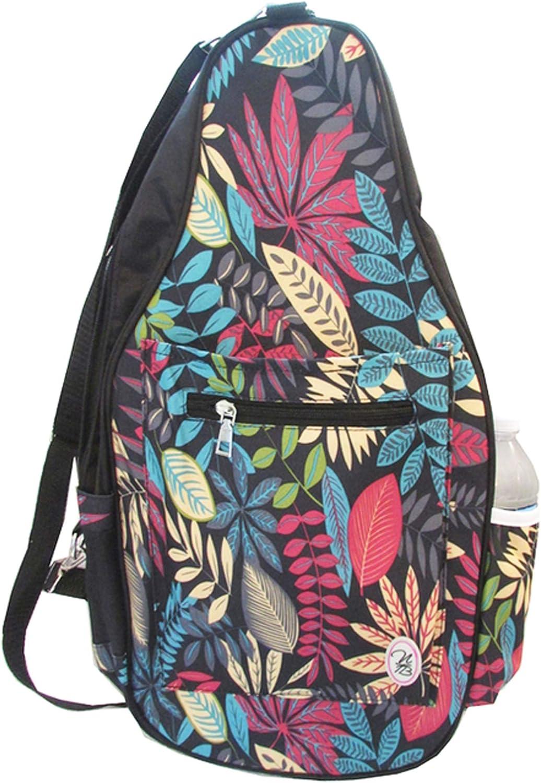 "Pickleball Marketplace Ladies Printed Pickleball Sling Bag - Multi-Color Design -""Vera"" - New   Designed for Pickleball"