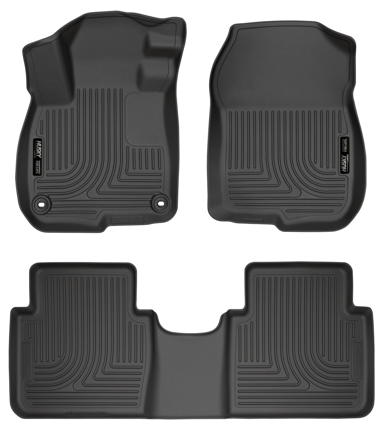 Husky Liners Front & 2nd Seat Floor Liners Fits 17-18 CR-V 99401