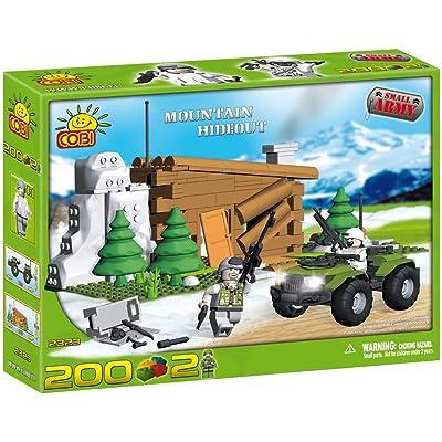 COBI Blocks Small Army #2323 Mountain Hideout: Toys & Games