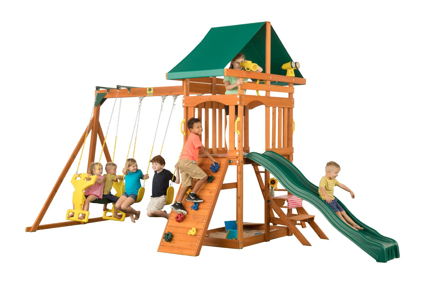 amazon com sky view wooden playset one size sports u0026 outdoors
