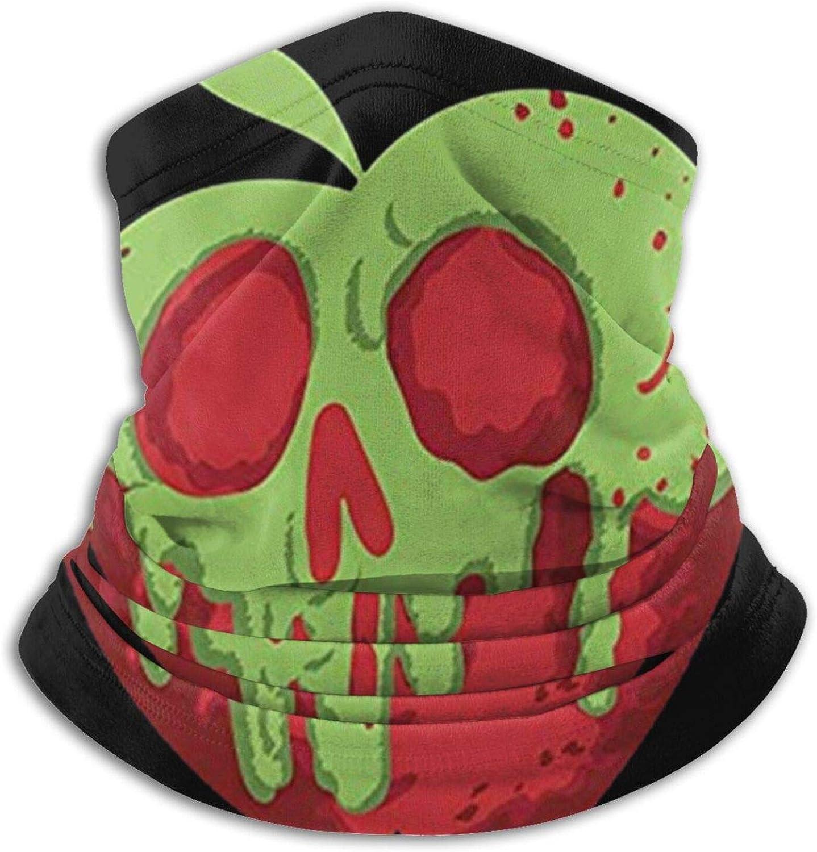 Poison Apple Microfiber Neck Dust Cover, Multifunctional Scarf, Balaclava Hat, Turban, Magic Scarf, Outdoor Sports Black