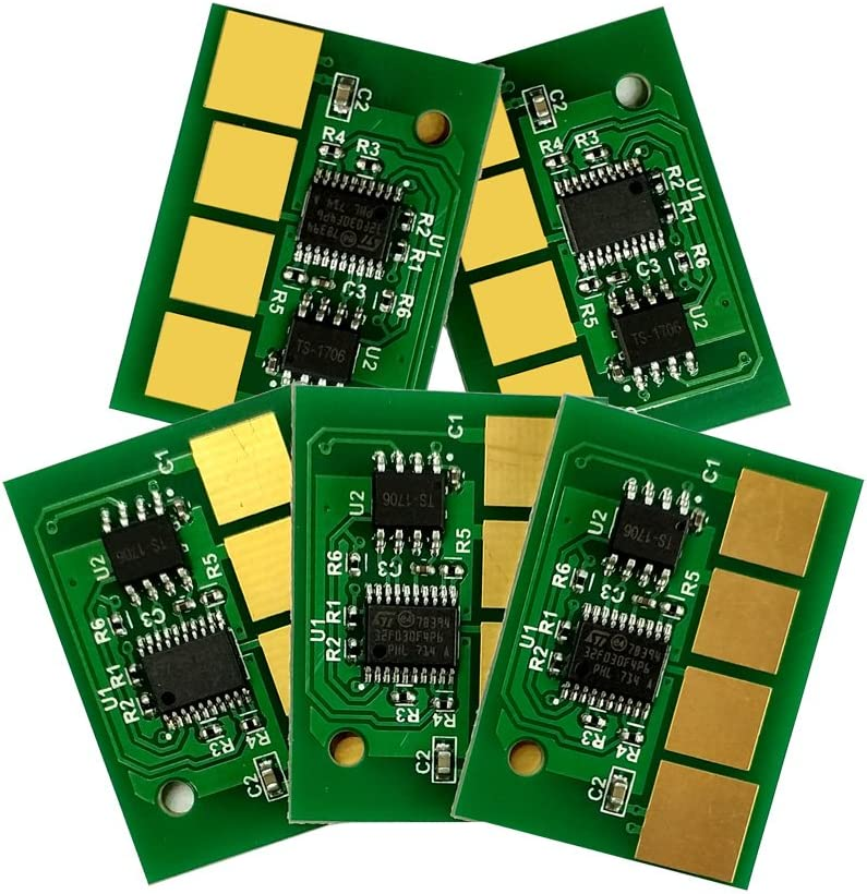 5PCS Universal Chip for Dell 5535dn 5350dn 5530dn MFP cartridge chip (Yield: 21000)