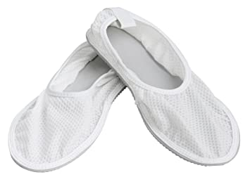 Secure SRSS 1L Slip Resistant Shower Shoes W/ Non Skid Heavy Duty Grooved  Sole