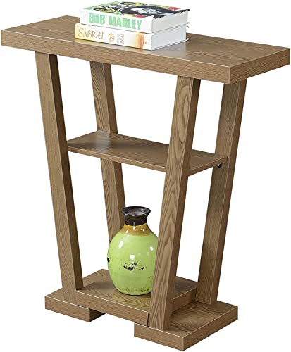 Modern Style V-Shape Frame End Table - the best living room table for the money