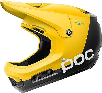 Amazon Com Poc Coron Air Spin Helmet For Downhill Mountain Biking Sulphite Yellow Xss Toys Games