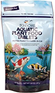 PondCare Aquatic Potted Plant Food Fertilizer, 3.8 Oz 25 Tablets