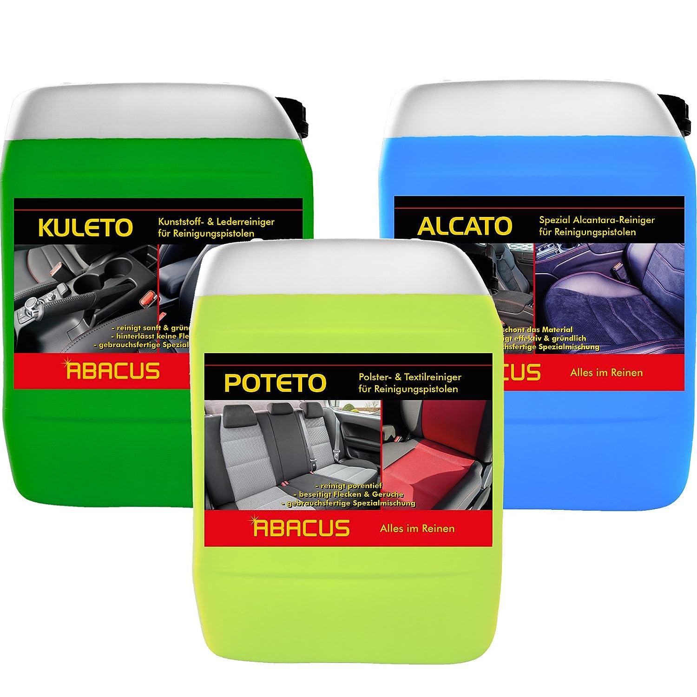 Abacus Tornador 7361 Nettoyant pour Aé rosol 5 l + 1 x 5 l Kuleto + 1 x 5 l