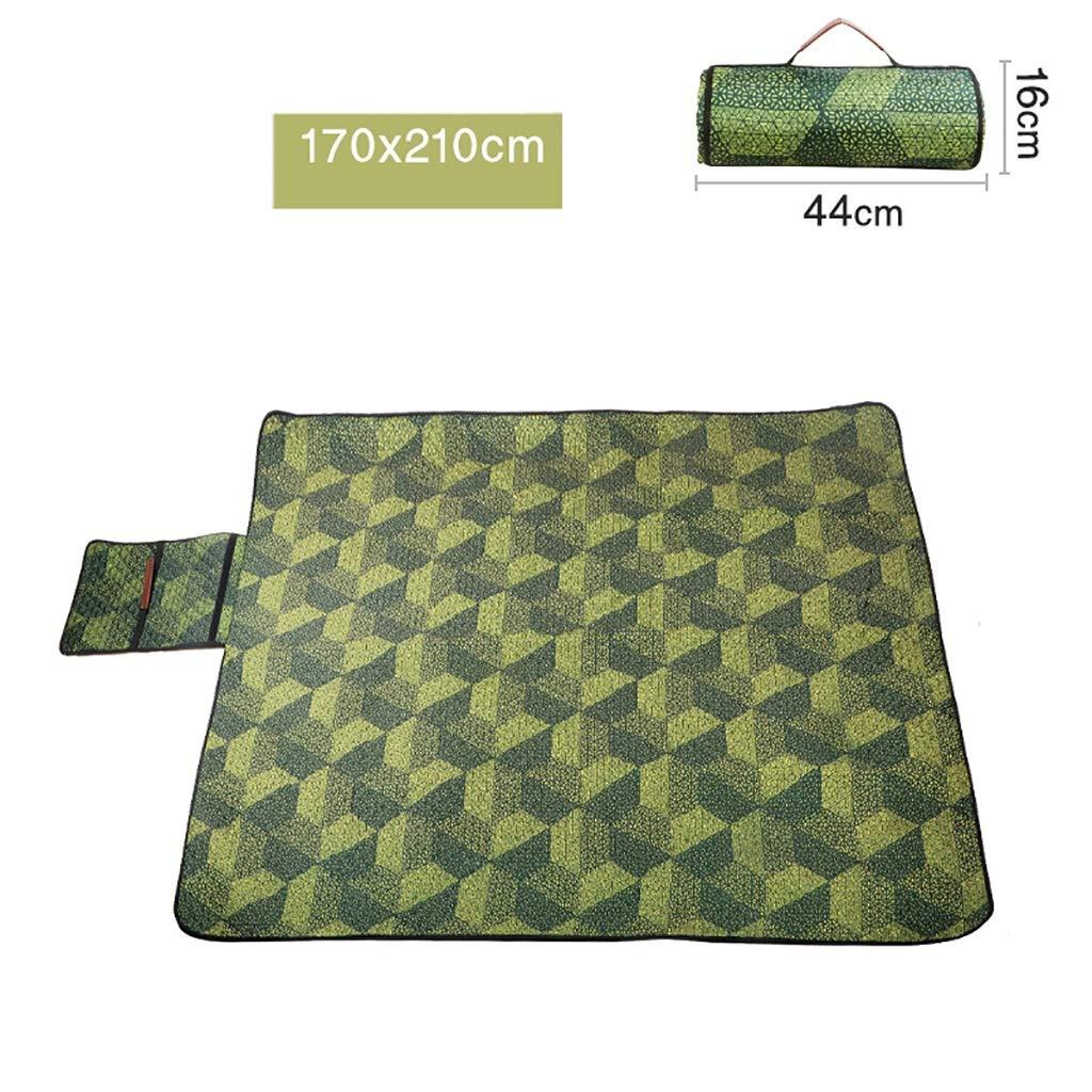 SMSJ-YJ Picnic Mat Four Seasons Universal Portable Camping Mat Mats Padded Waterproof Lawn Picnic Cloth