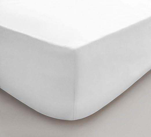 Sleepdown 5056242726371 Sábana Bajera Ajustable 100% algodón ...