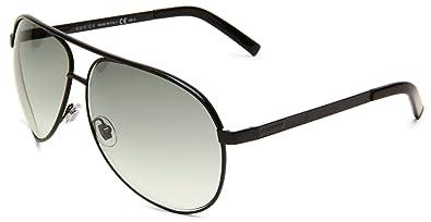 26d607c45f Amazon.com  Gucci 1827 S 0BNB Aviator Sunglasses