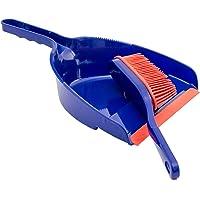 Lantelme Veegset handpenseelschop set rubber bezemsteel zachte rubberen lippenkleur blauw rood veegset 6813