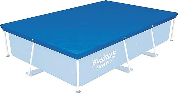 Bestway 58105 - Cobertor Invierno para Piscina Desmontable 259x170 cm: Amazon.es: Jardín