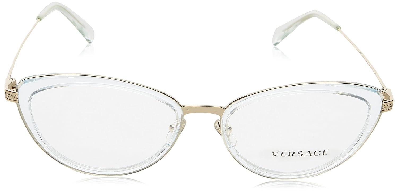 9890f887ffc43 Amazon.com  Versace Women s VE1244 Eyeglasses 53mm  Clothing