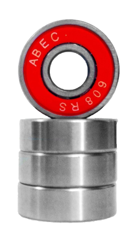Team Dogz 608 ABEC 7 Wheel Bearings - Pack Of 4